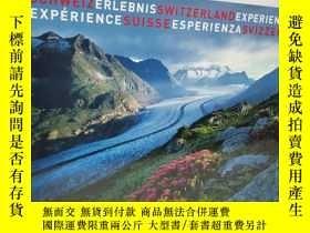 二手書博民逛書店德語罕見schweiz erlebnis switzerland experience experience su