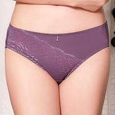 EASY SHOP-波動典雅 中腰三角褲(芋砂紫)