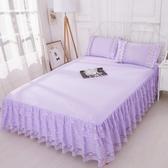 床罩組正韓公主180x220公分床罩床裙式單件蕾絲花邊床單保護套180公分200公分220公分床套夏天保潔墊