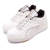 Reebok 休閒鞋 Court Double Mix 米白 黑 女鞋 厚底 運動鞋 【ACS】 EG6049