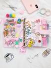 少女心方格手帳本韓國文藝精致粉色網紅可愛活頁筆記本子手賬套裝 黛尼時尚精品