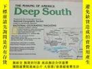二手書博民逛書店National罕見Geographic國家地理雜誌地圖系列之1983年8月 Deep SouthY14186