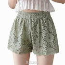 蕾絲三分褲安全褲女防走光可外穿夏天薄款不卷邊寬松打底短褲大碼 快速出貨