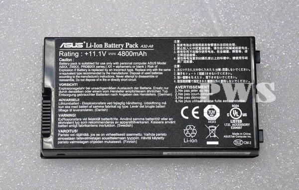ASUS A32-A8 F8 F8J A8S Z99 A8J A8H A8M A8E N81 N80 N80V 原廠電池