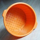 加厚加深按摩泡腳桶 足浴桶手提塑料足浴盆家用牛筋桶足浴桶 BF19657【旅行者】