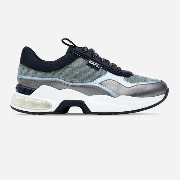 Karl Lagerfeld 卡爾 老佛爺 鞋 VENTURA復古老爹鞋-藍