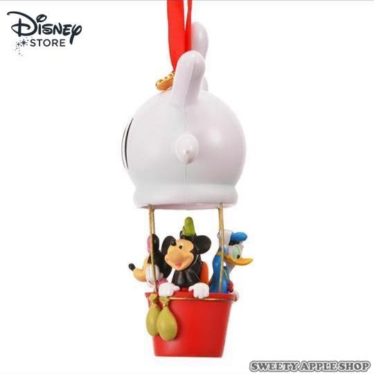 日本限定 Disney Store  迪士尼  米奇家族 熱氣球 掛繩裝飾吊飾