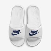 Nike Victori One Slide [CN9675-102] 男女鞋 運動 涼鞋 拖鞋 輕便 簡約 白 藍