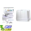 [美國直購] Brother 1034D 3/ 4 Thread Serger with Differential Feed and Brother 5300 Universal Sewing Machin...