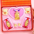 金寶珍銀樓-科技博士-彌月金飾音樂禮盒(0.20錢不含戒指)