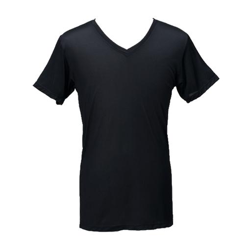 《台塑生醫》Dr's Formula冰晶玉科技涼感衣-男用短袖款(黑)一件入