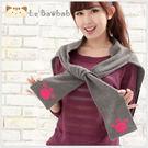 披肩~Le Baobab日系貓咪包 啵啵貓背影針織披肩 /上衣/女裝/