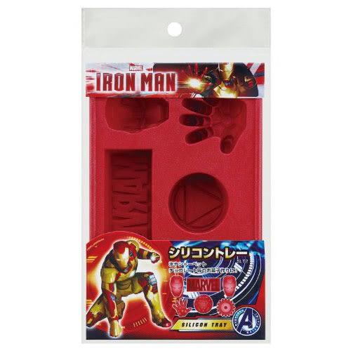MARVEL漫威英雄造型製冰盤/食品造型模(鋼鐵人)★funbox★SKATER_AT23414