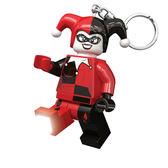 【 樂高積木 LEGO 】LED 鑰匙圈 - 超級英雄 - 小丑女 (卡通版)╭★ JOYBUS玩具百貨