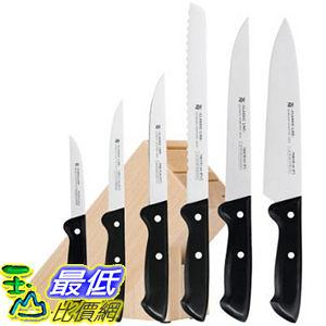 [美國直購] 廚房 刀具 七件組 含木座 18.7528.9990 WMF 7-Piece Classic Knife Set with Block