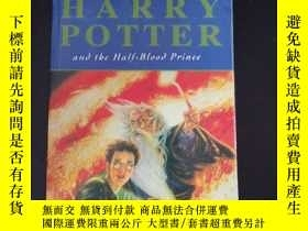 二手書博民逛書店HAPPY罕見POTTER and the half-blood