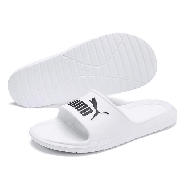 Puma Divecat V2 白色 男 拖鞋 運動拖鞋 皮革 厚底 防水 一體成形 舒適 輕量 36940002