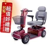 來而康 必翔 電動代步車 TE-888N P型把手 電動代步車款式補助 贈 熊熊愛你中單2件