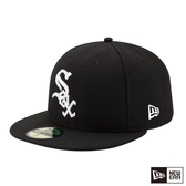 NEW ERA 59FIFTY 5950 MLB 球員帽 白襪 _客場 黑 棒球帽