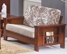 【新北大】Y249-08 魯尼雙人座木製沙發 -2019購