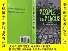 二手書博民逛書店Horrors罕見of History: PEOPLE OF THE PLAGUE A NOVEL 英文原版小說
