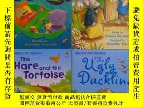 二手書博民逛書店THE罕見HARE AND THE TORTOISE 英文原版