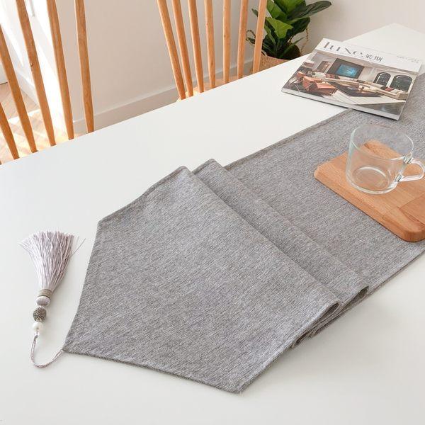 時尚可愛空間餐桌布 茶几布 隔熱墊 鍋墊 杯墊 餐桌巾桌旗687 (30*140cm)