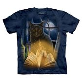 ~摩達客~ 大 3XL 美國 The Mountain 迷惑貓純棉環保短袖T 恤10416