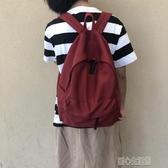 後背包 19自製帆布後背包百搭女日繫簡約旅行男女背包高中學生書包 暖心生活館
