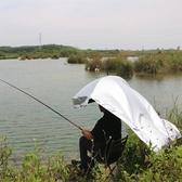 采茶傘可背式遮陽傘防曬背傘雙層大號釣魚傘戶外垂釣頭頂雨傘帽子