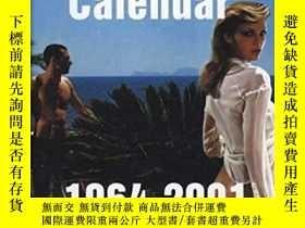 二手書博民逛書店The罕見Pirelli Calendar 1964-2001Y