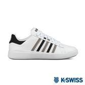 K-Swiss Pershing Court Light休閒運動鞋-男-白/黑/灰