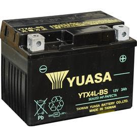 YUASA 湯淺 YTX4L-BS 機車電瓶/電池 正廠零件★全館免運費★『電力中心-Yahoo!館』
