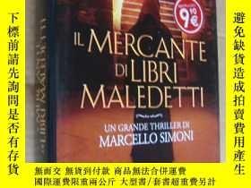二手書博民逛書店意大利語原版罕見精裝+書衣 IL MERCANTE DI LIB