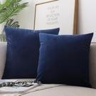 抱枕 北歐抱枕正方形靠墊沙發靠枕客廳長方形靠背墊天鵝絨抱枕