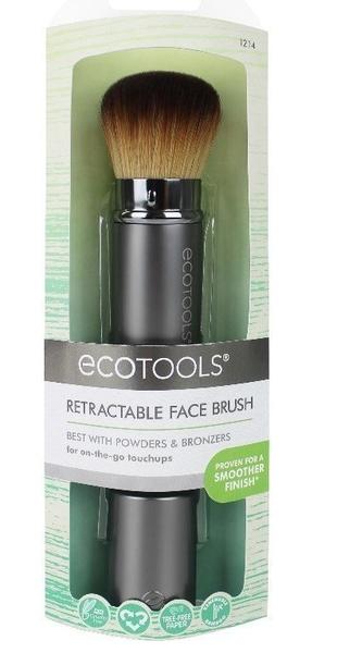美國EcoTools Retractable Kabuki#1214伸縮便攜式【愛來客 】 化妝刷 粉底刷 腮紅刷