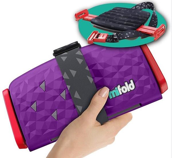 [2美國直購] 可攜帶式汽車增高墊 New mifold Comfort Grab-and-go Car Booster Seat- 3X Thicker Cushion! Compact