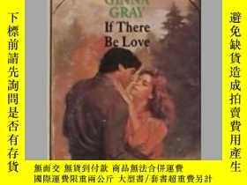 二手書博民逛書店英文原版罕見If There Be Love by Ginna