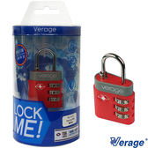 Verage 體育系列TSA海關密碼鎖『紅』379-5111  海關鎖|密碼鎖