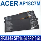 ACER AP18C7M . 電池 Swift 3 SF313-52T SF313-52G Swift 5 SF514-54GT SF514-54T SF514-55T Spin 5 SP513-54N SP513-54