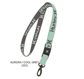 Hurley  M HURLEY ONE AND ONLY LANYARD BLACK/(WHITE)  識別証吊繩-(綠)