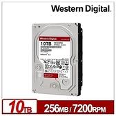 WD 威騰 10TB 3.5吋 紅標 Plus 256M快取 7200轉 NAS專用 內接硬碟 WD101EFBX