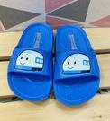 【震撼精品百貨】Shin Kan Sen 新幹線~台灣製新幹線正版兒童矽膠拖鞋-藍(15~22號)#19279