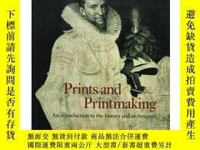 二手書博民逛書店Prints罕見and Printmaking: An Intr