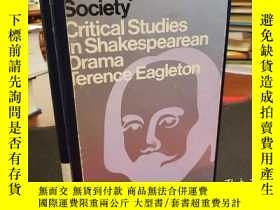 二手書博民逛書店Shakespeare罕見and society: Critical Studies in Shakespeare
