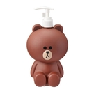 【震撼精品百貨】LINE FRIENDS_公仔~LINE FRIENDS 熊大 造型沐浴乳空罐(500ML)#00222
