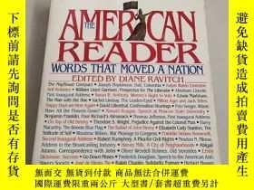 二手書博民逛書店THE罕見AMERICAN READER:WORDS THAT MOVED A NATION美國讀者:感動民族的話