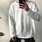 男裝白色內搭打底衫潮流長袖T恤男生韓版寬鬆上衣春秋季日系衣服 金曼麗莎