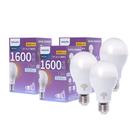 (組)飛利浦LED超極光球泡型燈泡13W燈泡色-3顆
