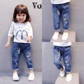 長褲兒童韓版鉛筆1-3歲4修身小腳褲子潮